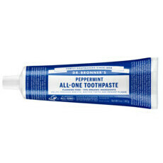 Dr Bronner's All-One Toothpaste - Peppermint