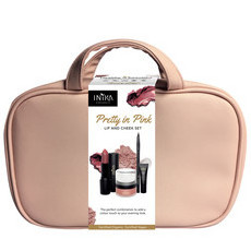 Inika Organics Pretty In Pink - Lip & Cheek Set
