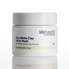 Life Basics Pure White Clay Facial Mask