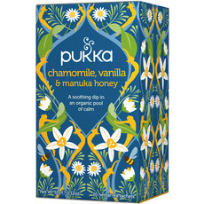 Pukka Tea - Chamomile, Vanilla and Manuka Honey