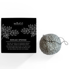 Mukti Activated Charcoal Konjac Sponge