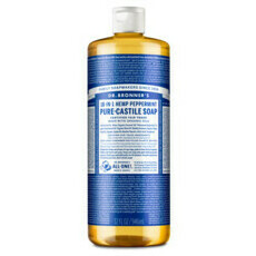 Dr Bronner's Pure-Castile Liquid Soap - Peppermint