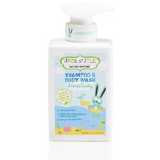 Jack N' Jill Natural Bathtime Shampoo & Body Wash - Simplicity