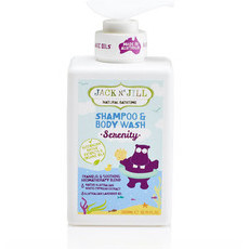 Jack N' Jill Natural Bathtime Shampoo & Body Wash - Serenity