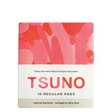 Tsuno Natural Bamboo Pads - Regular