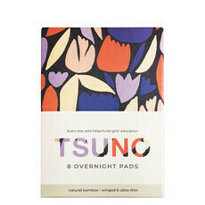 Tsuno Natural Bamboo Pads - Overnight