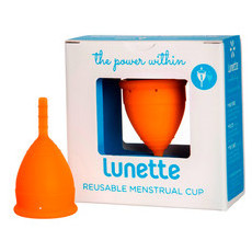 Lunette Menstrual Cup - Orange