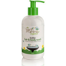Earth Mumma Organic Bubba Hair & Body Wash - Lavender & Mandarin