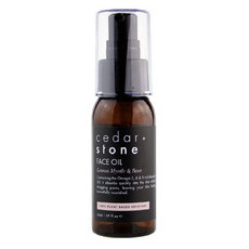 Cedar + Stone Lemon Myrtle & Rose Face Oil