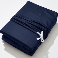 Life Basics - Eco Bamboo Sheet & Pillow Set - Navy