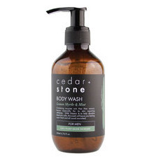 Cedar + Stone Lemon Myrtle & Mint Body Wash
