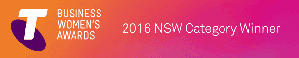 Telstra Business Women's Awards NSW Finalist 2016