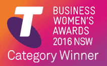 Telstra Business Women's Awards Finalist 2016