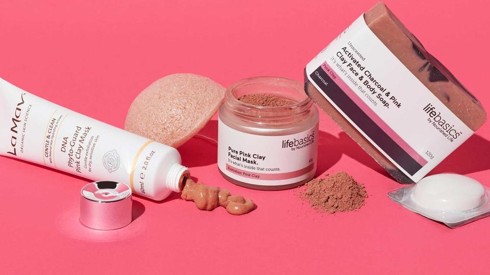 Australian pink clay mask benefits