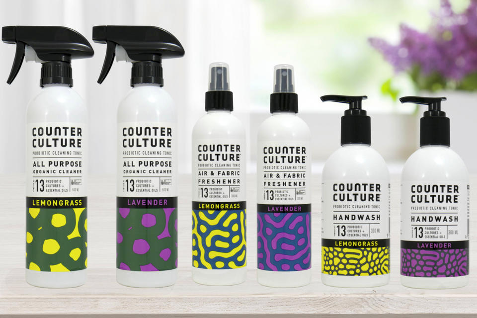 Counter Culture natural probiotic cleaning products