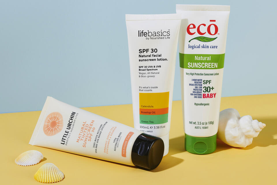 Natural sunscreens for family