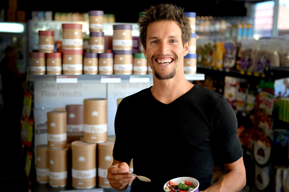 Dwayne Martens, founder of Amazonia raw superfoods